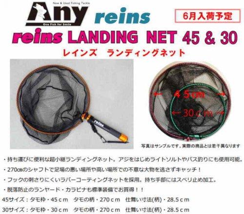 レイン Landing Net 450 / ライトゲームランディングネット450