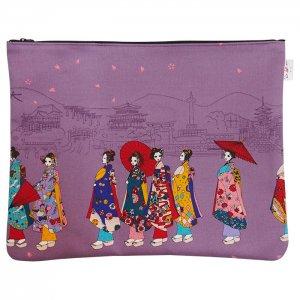 舞妓ポーチ(京の街並み)
