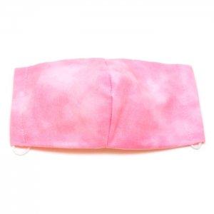洗える布マスク・ぼかし染桃
