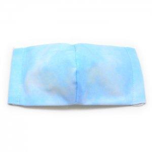 洗える布マスク・ぼかし染青