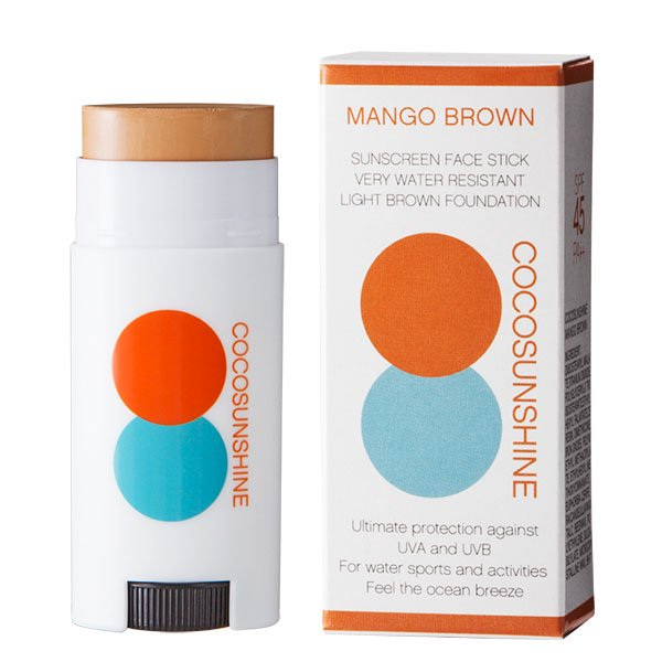 <img class='new_mark_img1' src='https://img.shop-pro.jp/img/new/icons14.gif' style='border:none;display:inline;margin:0px;padding:0px;width:auto;' />COCOSUNSHINE FACE STICK MANGO BROWN SPF45 PA++(マンゴーブラウン / 日焼け止め)