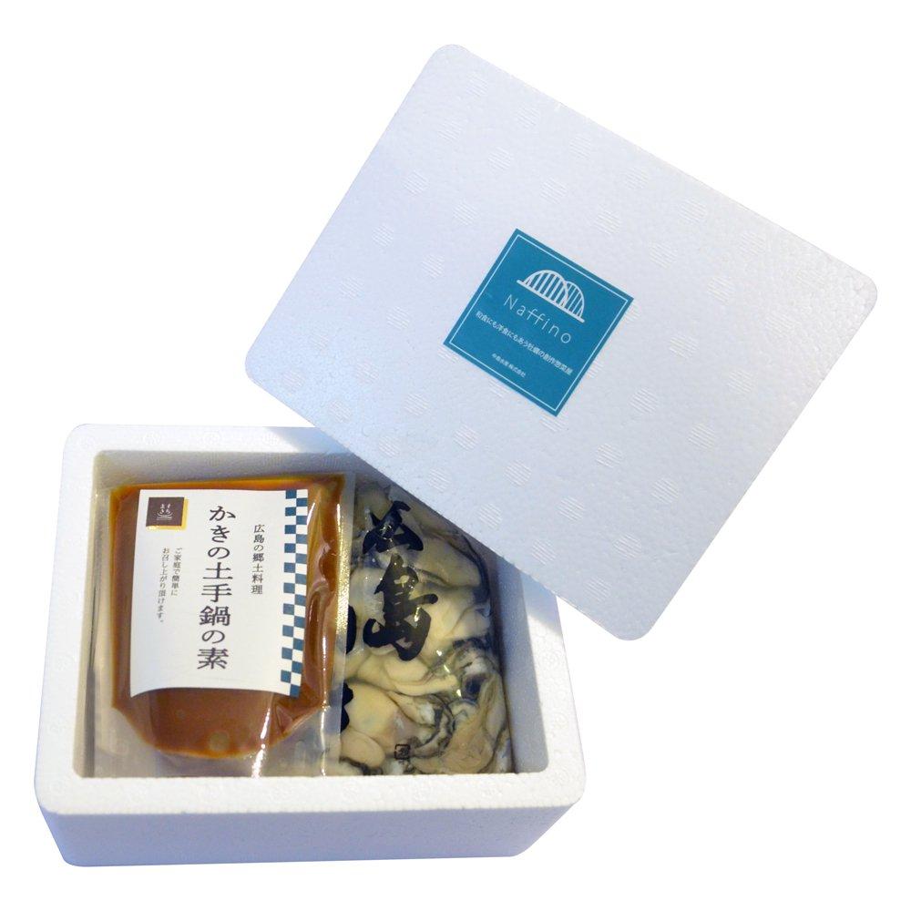 土手鍋の素220g(4人前)と広島牡蠣500g(naffino&ますきち)