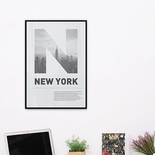 【アルミアートフレーム】ニューヨークシティ 452x649mm