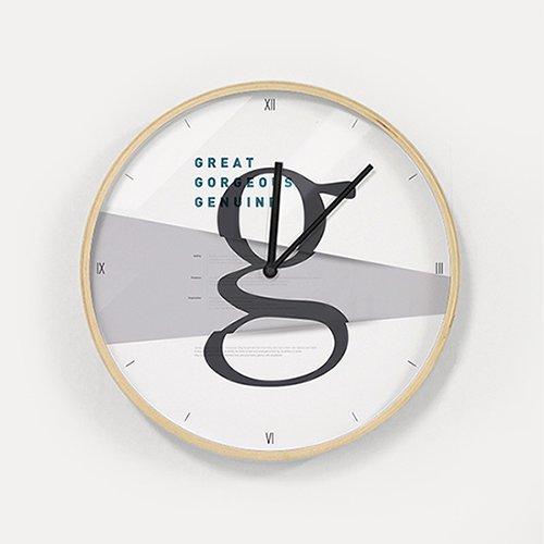 【壁掛け時計】ザ・グレートジー