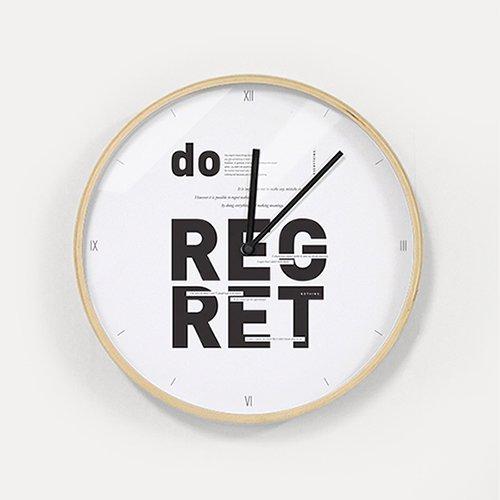 【壁掛け時計】リグレットナッシング