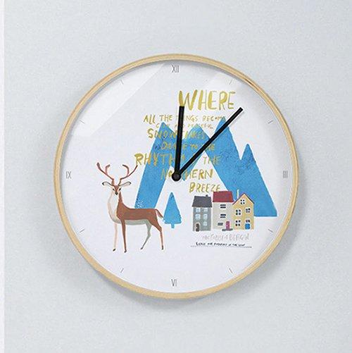 【壁掛け時計】ノルウェーの森
