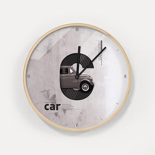 【壁掛け時計】ヴィンテージカー