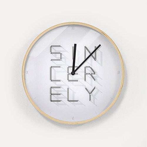 【壁掛け時計】シンシアリー