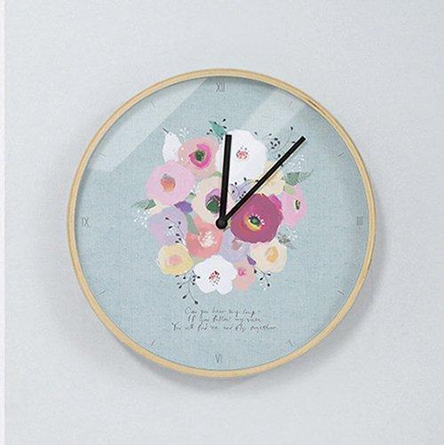 【壁掛け時計】ピーカブー