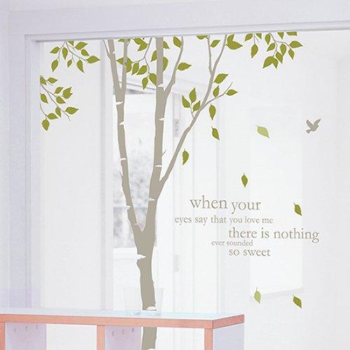 【ウォールステッカー】白樺の森2