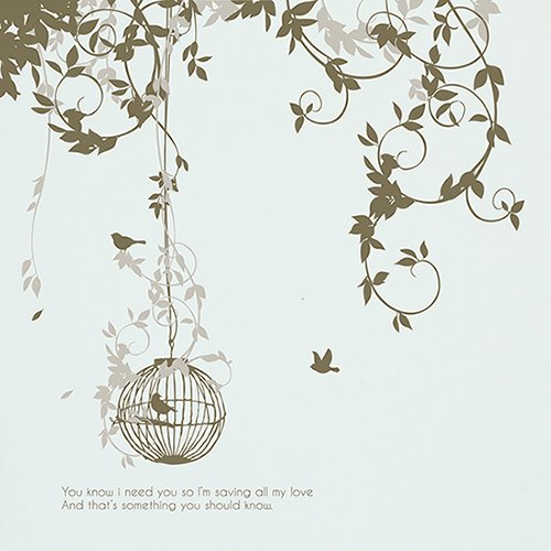 【ウォールステッカー】夢の庭園