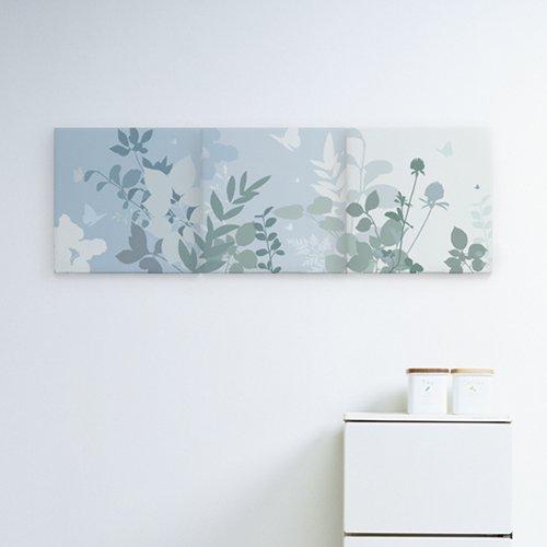 【ファブリックパネル】蝶の花園30x30