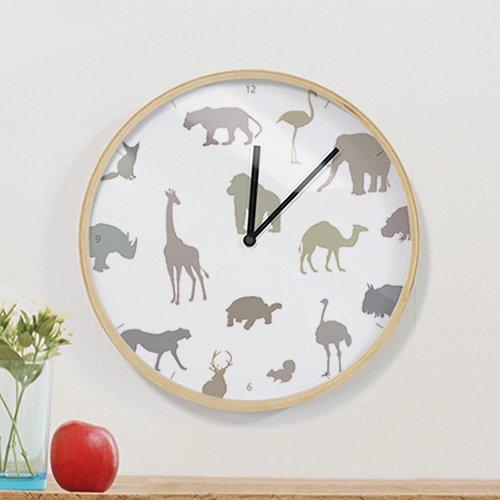 【壁掛け時計】ラブアニマルB