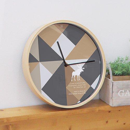【壁掛け時計】メタ