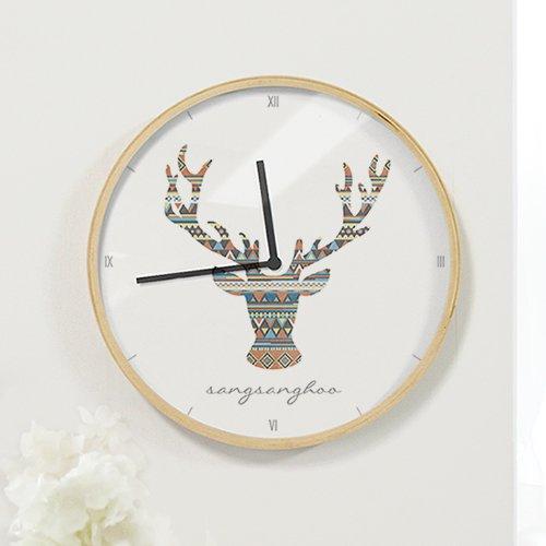 【壁掛け時計】ノルディックディア