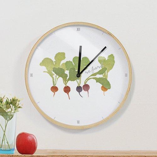 【壁掛け時計】グリーンファーム