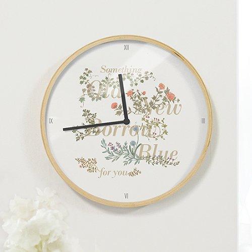 【壁掛け時計】イングランドガーデン