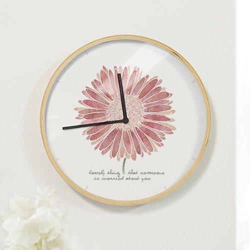 【壁掛け時計】ラブリーデイジー