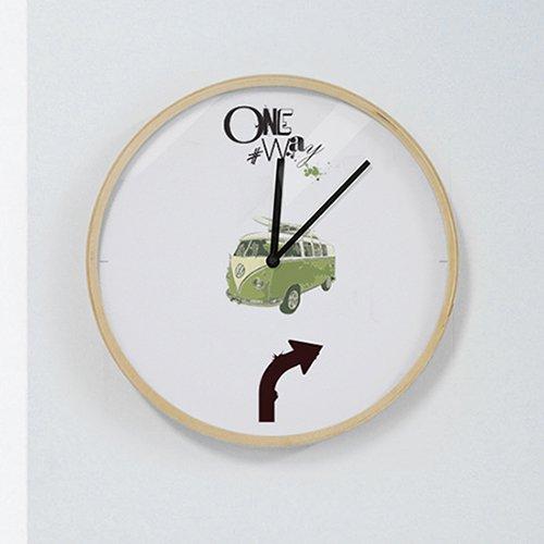【壁掛け時計】ワンウエー