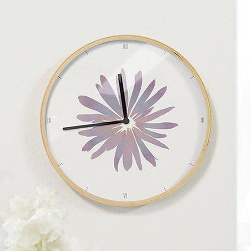 【壁掛け時計】花びら