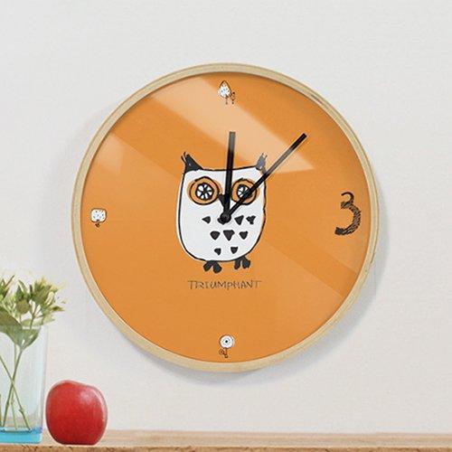 【壁掛け時計】ほうほう友達