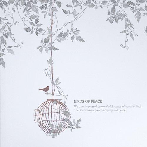 【壁紙クロス】鳥たちの庭園