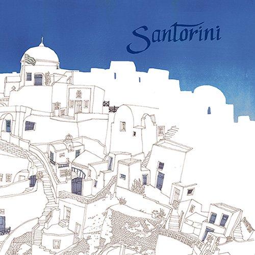 【壁紙クロス】サントリーニ
