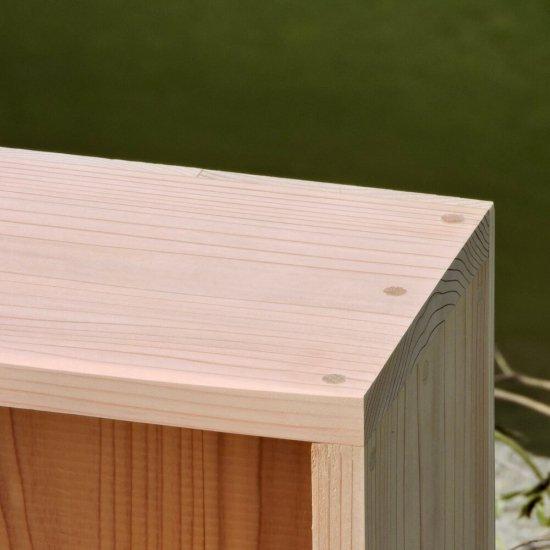 無垢の本棚(小)|山梨県産杉