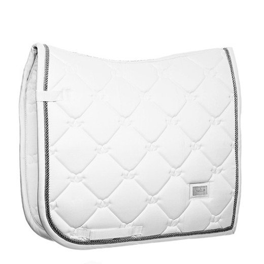 EQUESTRIAN STOCKHOLM 馬場用ゼッケン -White Silver