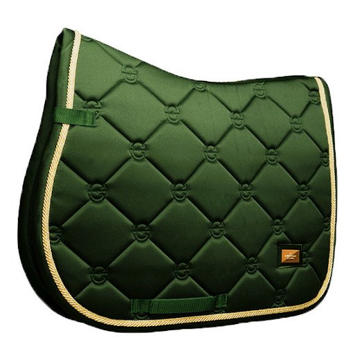 EQUESTRIAN STOCKHOLM 障害用ゼッケン - Forest Green