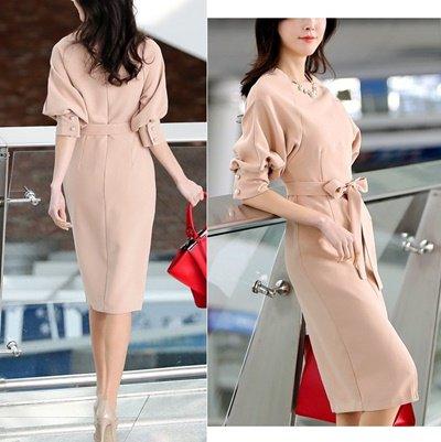 10186d5faa17a ミモレ丈ワンピースオルチャンスタイル olchaigstyle 韓国ファッション ...