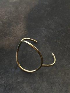 accessories mau  わっか brass bangle