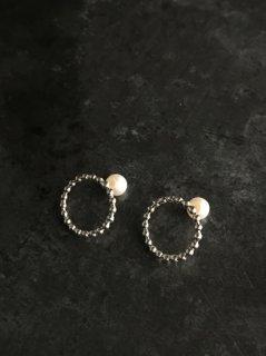accessories mau  つぶつぶピアス silver