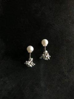 accessories mau  カレンシルバーパールキャッチ
