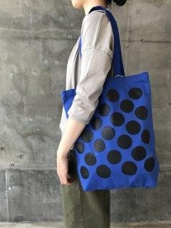 網中いづる トートバッグ ブルー