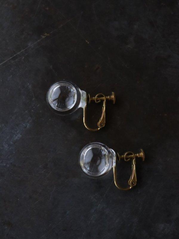 涙ガラス製作所 耳朶の水平線 イヤリングL