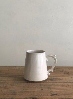 ヨシノヒトシ 白瓷マグカップ
