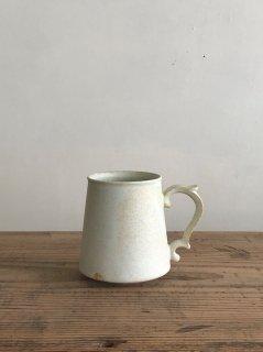 ヨシノヒトシ 淡緑瓷マグカップ