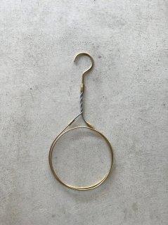 Bowl pond タオル掛け リング型真鍮