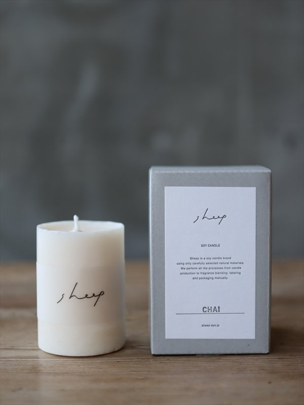 sheep SOY CANDLE CHAI