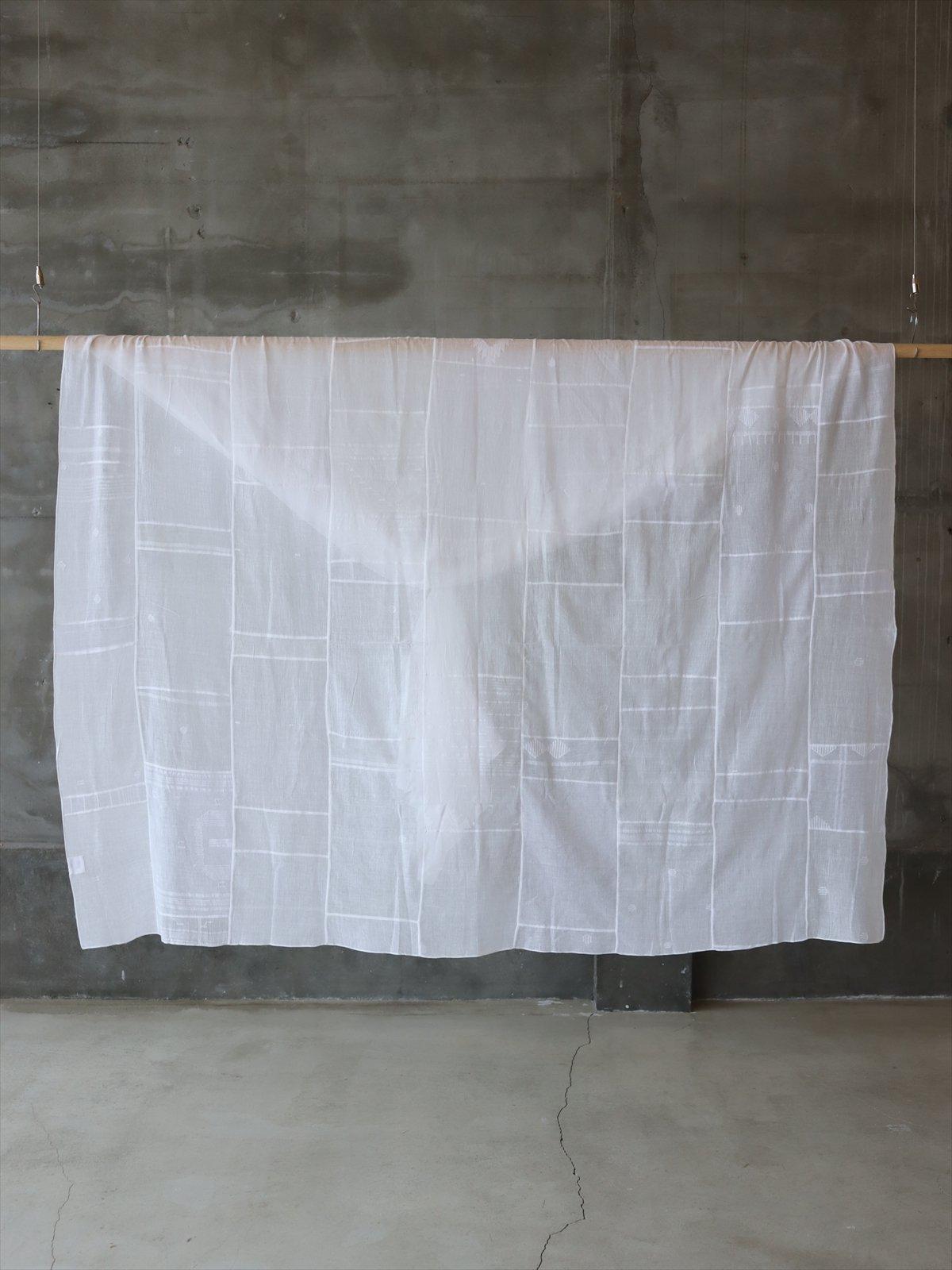 CALICO コットンサリーパッチワーク布 ホワイト