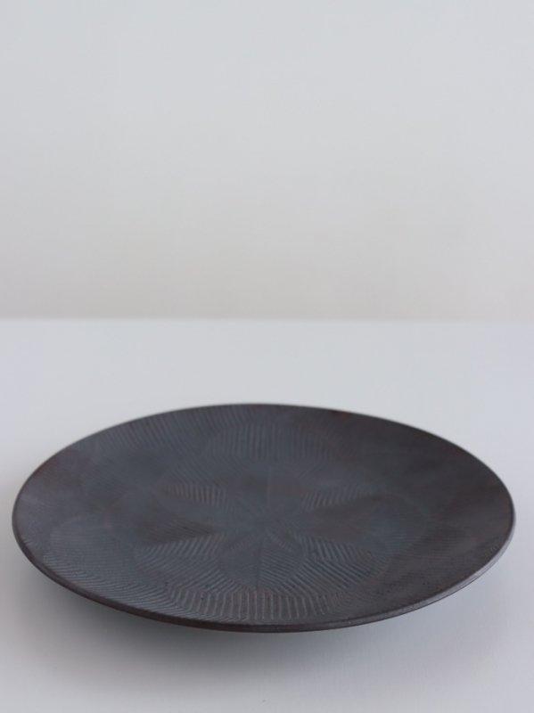 阿南維也 鉄磁鎬文7寸皿