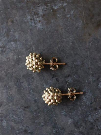 indigo-silver WORKS BR つぶつぶシンプルピアス