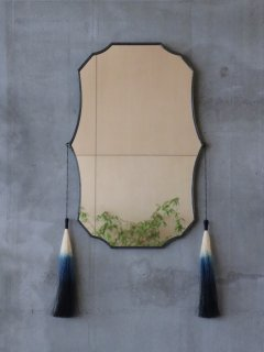 reimi Mirror with Dyed tassel