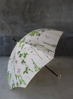 イイダ傘店 押花 雨傘