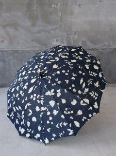 イイダ傘店 葉っぱ 日傘