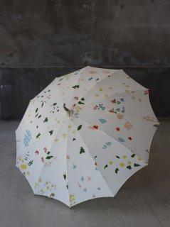 イイダ傘店 春の花A 日傘