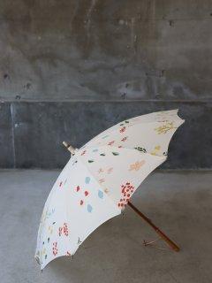 イイダ傘店 春の花B 日傘
