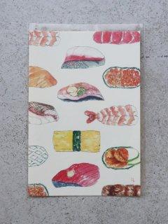 イイダ傘店 ポストカード 寿司