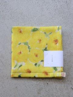 イイダ傘店 ミニタオル インドの花